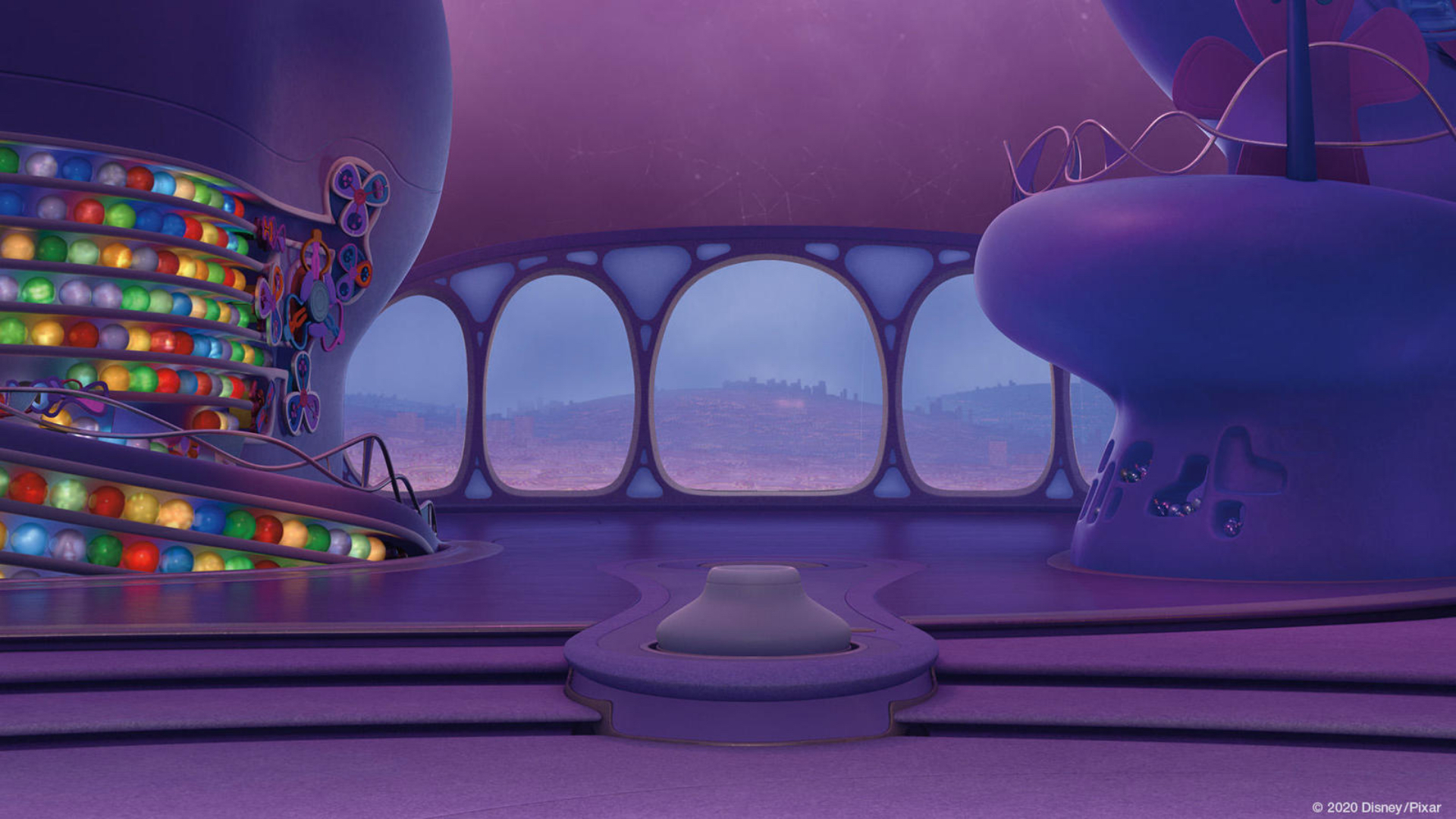 Disney - Inside Out Background for Teams or Zoom